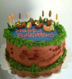 Kakes by Kaycie Duck Pond Cake