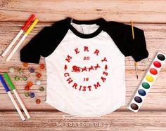Merry Christmas 2015 Shirt; Hipster Christmas Shirt; Christmas Shirt; Holiday Shirt for Kids; Christmas outfit boy or girl; Christmas photo