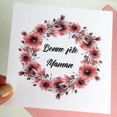 Personnalisé Anniversaire Word Art cadeaux pour sa mère Nom Initial toute lettre M Cadeau