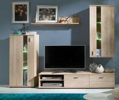 Vásárlás: Mirka Szekrénysor árak összehasonlítása, Mirka boltok Flat Screen, The Unit, Lights, Wall, Modern, Furniture, Home Decor, Led, Colour