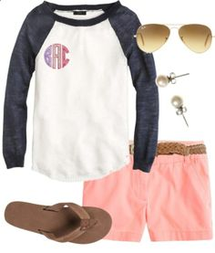 Casual by thevirginiaprep  liked on Polyvore
