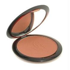 This is the best bronzer I've ever used. It's neither too pink nor too orange. It's light and doesn't disappear into my skin. I use the light shade (1) in winter, medium (2) the rest of the year.  I've tried a hundred different ones. Why I've tried others, I don't know. Just can't help it.  I started using this one years and years ago. I still think it's the best.