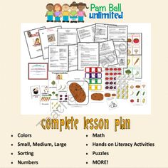 Read-2-Learn :: Stone Soup from A Pam Ball Unlimited Shop on TeachersNotebook.com -  (45 pages)