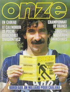 Onze N° 104 : Football Chalana Bordeaux Maradona Bilan Euro 84 Bordeaux, Euro, Football Memorabilia, Halcyon Days, Sports, Club, Soccer, Balance Sheet, Hs Sports