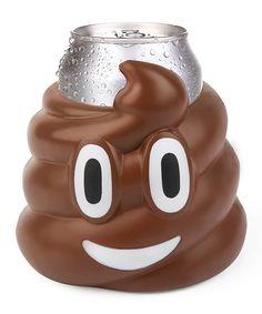 Poo Emoji Drink Kooler