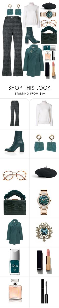 """""""London in November"""" by pulseofthematter ❤ liked on Polyvore featuring Wood Wood, FABIANA FILIPPI, Venus, MANGO, Chopard, Isolde Roth, Christian Dior and Chanel"""