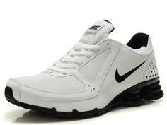 Mens Nike Shox Turbo 10 White Black Cheap Nike 9499584eb52