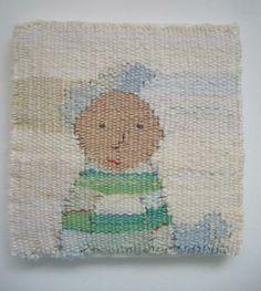 Strpey Boy, Rachel Hine | woven design | weaving | Abstract Tapestry