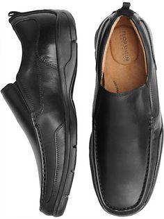 finest selection bedc3 fa85c Shoes - Florsheim Ellsworth Black Slip On Shoes - Men s Wearhouse Miradas  De Los Hombres,