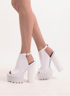 Wedge Shoes, Tap Shoes, Dance Shoes, Sale Of The Day, White Wedges, Love Clothing, Jeffrey Campbell, Heeled Mules, Fashion Shoes