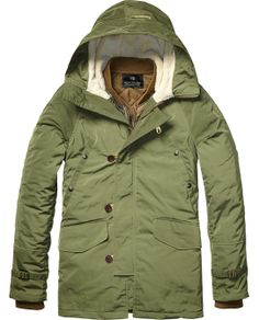 Parka Jacket With Inner Bomber > Mens Clothing > Jackets at Scotch & Soda