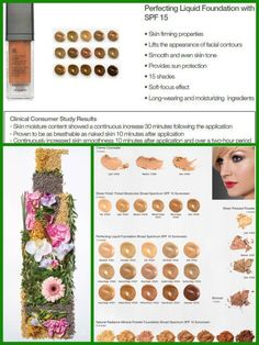 Breathable, anti-aging tinted moisturizers and foundation! Since sun exposure is the number 1 cause of aging, these Arbonne products come with an additional SPF 15, of UVA UVB Protection! Skin Care - Makeup - Weight Loss - Healthy Living Contact me for samples catalogs (nationwide) and free consultations, mini facials and pamper parties Contact Jen at jmcosta17@gmail.com ID #21286306