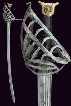 Schiavona Sword  Dated: 17th century Culture: Italian, Venetian Place of Origin: Venice Measurements: overall length 98 cm