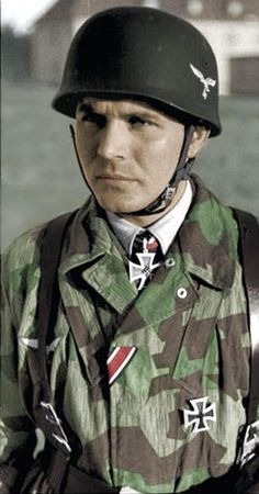 Ritterkreuzträger Bruno Sassen, Fallschirmjäger - pin by Paolo Marzioli