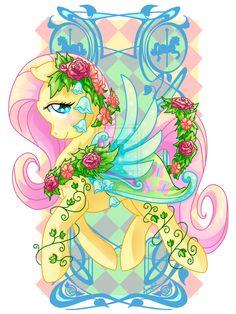 Flutters Carousel Cutie by ~Amelie-ami-chan on deviantART