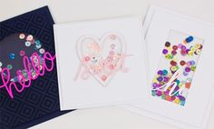 Learn how to make shaker cards three different ways with this FREE tutorial on the Craftsy blog!