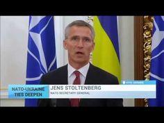 NATO-Ukraine Ties Deepen: NATO to modernise Ukraine's armed forces - YouTube