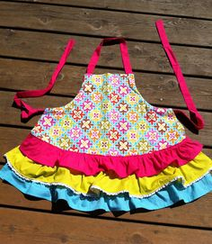 the sweetest little girl's aprons (and boys) made with love by @Stacy Stone Stone of KSW