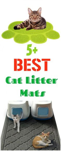Does your cat like to make a bit of a mess when stepping out of the litter box? These mats are great way to trap litter so it does not end up all around your home! Check out these great options