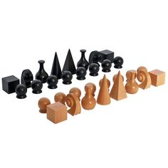 Chess Set by Man Ray | From a unique collection of antique and modern games at http://www.1stdibs.com/furniture/more-furniture-collectibles/games/