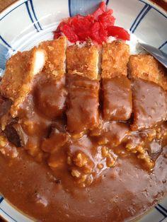 7 octobre midi Curry et poulet pané