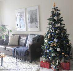Blue holiday decor Blue Christmas, Christmas Tree, Holiday Tree, Holiday Decor, Hip Hip, Home Decor, Teal Christmas Tree, Decoration Home, Room Decor