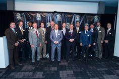 SEC Head Football Coaches at the SEC Network announcement.