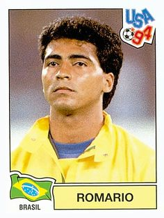107 ROMARIO - BRA - FIFA World Cup USA 1994