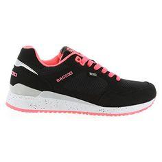 Sportschuhe für Damen BASS3D 41307 C NEGRO Schuhgröße 40 - Sneakers für frauen (*Partner-Link)