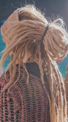 Dreadlock Beads, Natural Dread Care and Dr… Dreadlock Video IGTV Mountain Dreads. Dreadlock Beads, Natural Dread Care and Dreadlock Accessories. Cute Dreads, Dreadlocks Girl, Long Dreads, Natural Dreads, Beautiful Dreadlocks, Dreadlock Beads, Dread Beads, Dreadlock Hairstyles, Braided Hairstyles