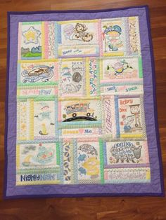 Anita Gooddesign Nursery Rhyme Quilt I made for my Granddaughter.