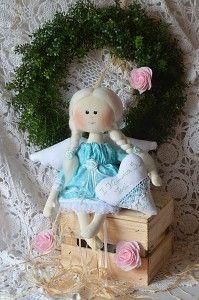 tilda, lalka stojąca, miś, kot, lalki artystyczne, rękodzieło, szmaciane zabawki, myszki, mysz, króliki tilda, zające, choinka, aniołki, anioły, komunijne anioły