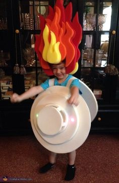 A smoke detector. | 27 Weird Things Kids Have Asked To Be For Halloween