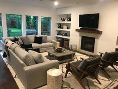 Longing additional furniture pointers, why not stop by the creative pin 1636866312 now on 20200304 Rectangular Living Rooms, Narrow Living Room, Living Room Grey, Living Room Sets, Home Living Room, Living Room Designs, Living Room Decor, Kitchen Living, Dining Room