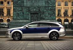 2016 Peugeot 508 RXH restylée par Castagna. Peugeot, Citroen Ds, France, Cars And Motorcycles, Automobile, Bmw, Vehicles, Inspiration, Cars
