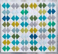 Winged by Krista Fleckenstein, 2015   The Modern Quilt Guild