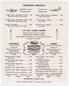 71 Best Old Restaurant Menus images   Vintage menu, Retro