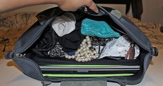 packing for 3-4 days in a tote bag