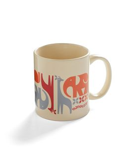 Retro Zoo Animals Coffee Mug