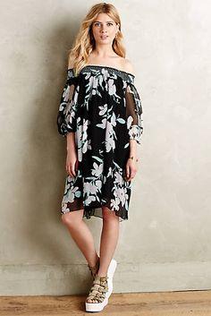 Paola Silk Swing Dress