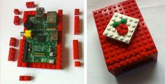 Build a Raspberry Pi case out of LEGO | Make Things Do Stuff