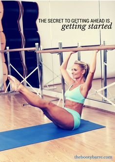 The secret to getting ahead is getting started:)
