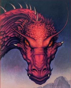 its the cover to i want to say the third book in the Eragon series done by John Jude Palencar great art to cover a great book ;)