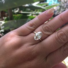 1.54ct Moval Rose Cut Diamond, GIA G SI1