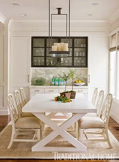 This dark and dated 1960s California ranch was given a complete makeover by designer Kelie Grosso. The results? A chic and casual Californi...