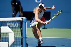 Women's round 3 action   September 2, 2016 - Caroline Wozniacki in action against Monica Niculescu during the 2016 US Open at the USTA Billie Jean King National Tennis Center in Flushing, NY.