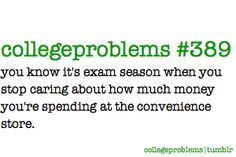 College Problems #389 #highered #college #university #funny
