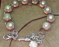 Bullet Jewelry 20g Shot Gun Shell Bracelet by FireandIcceDesigns