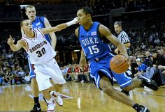 Stephen Curry (Davidson), Tyler King and Gerald Henderson