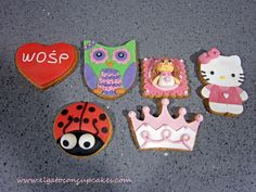 Galletas niña / Cookies for little girls